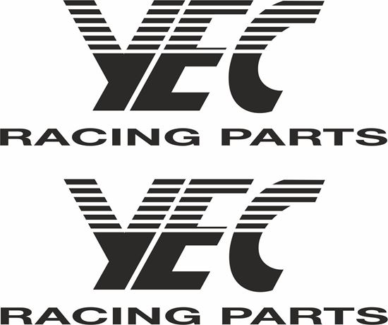 "Picture of ""Yec Racing Parts"" general panel  Decals / Stickers"