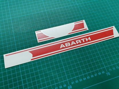 Picture of Fiat 500 Interior Dash Stripe  / Stickers