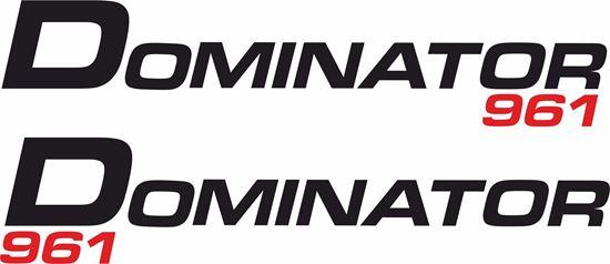 "Picture of Norton ""Dominator 961""  Decals / Stickers"