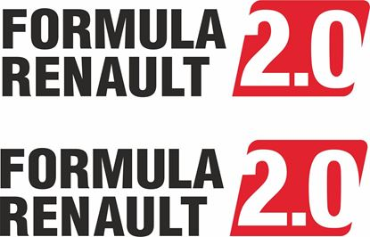 Picture of Formula Renault 2.0   Decals  / Stickers