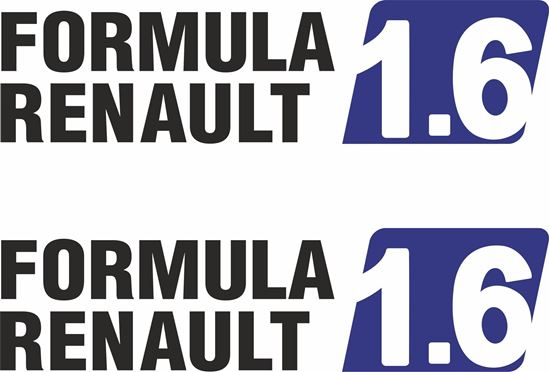 Picture of Formula Renault 1.6  Decals  / Stickers