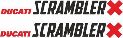 Picture of Ducati Scrambler X Decals / Stickers