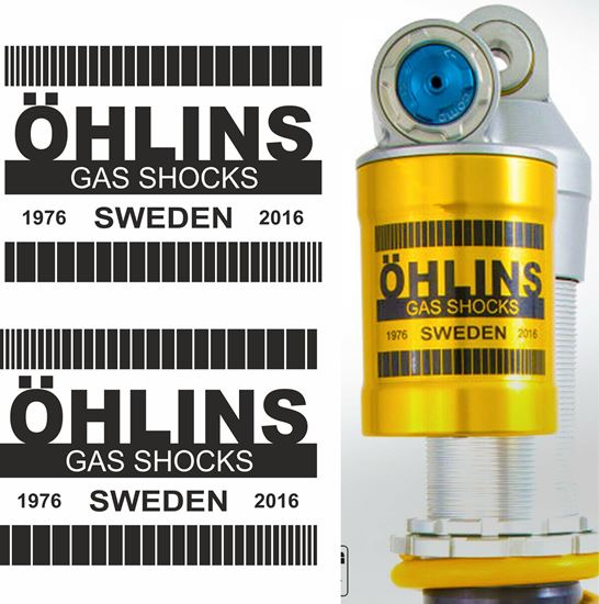 Picture of Ohlins replacement Gas Shock Decals / Stickers
