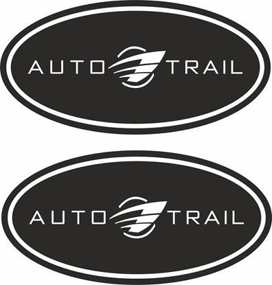 "Picture of ""Auto Trail"" Decals  / Stickers"