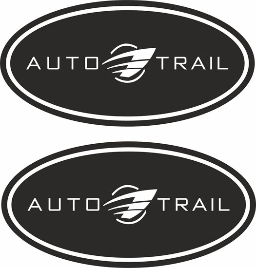 """Picture of """"Auto Trail"""" Decals  / Stickers"""