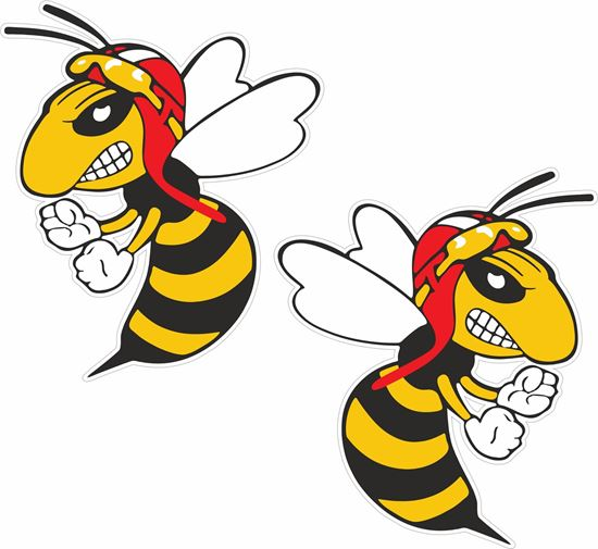 Picture of Bee / Hornet Decals / Stickers
