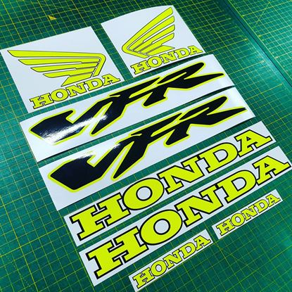 Picture of Honda VFR 800V  2005 - 2006 Custom Decals / Stickers