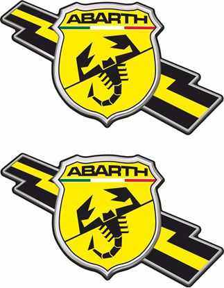 Picture of Fiat Abarth Stickers / Decals