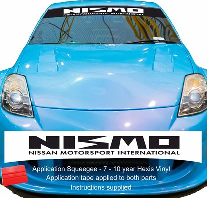 "Picture of ""Nismo""  Sunstrip  / Sticker"