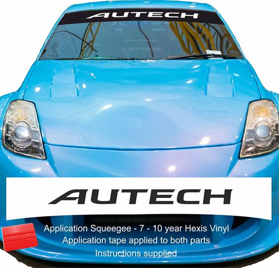 "Picture of ""Autech""  Sunstrip  / Sticker"