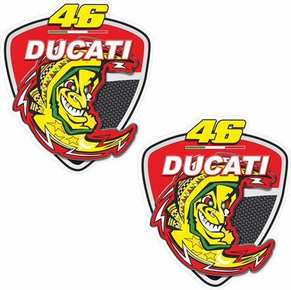 Picture of Ducati Rossi Shield Decals / Stickers