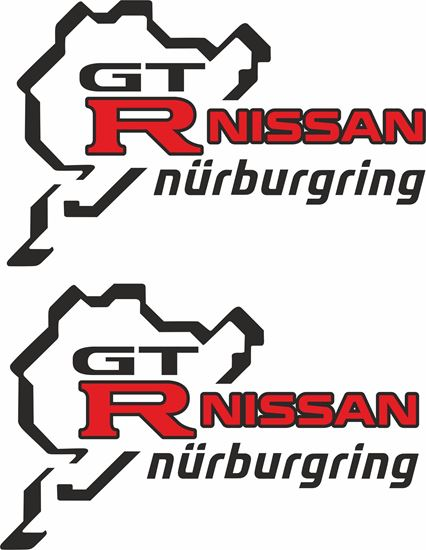 """Picture of """"GTR Nurburgring"""" Decals / Stickers"""