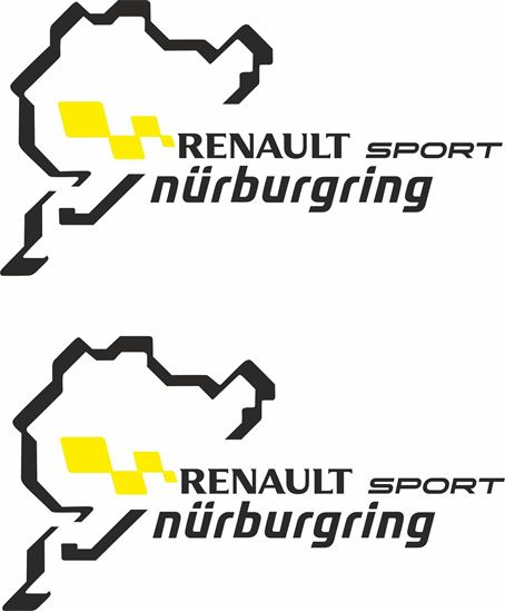 """Picture of """"Renault Sport Nurburgring"""" Decals  / Stickers"""