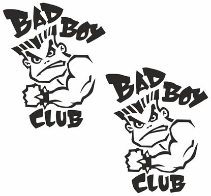 Picture of Bad Boy Club Decals / Stickers