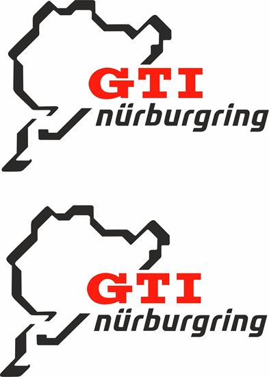 Picture of GTI Nurburgring Decals / Stickers