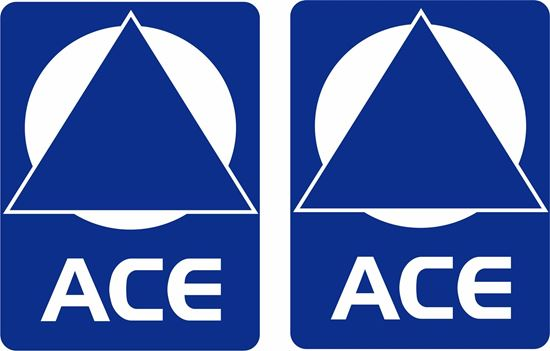 "Picture of ""ACE"" panel Decals / Stickers"