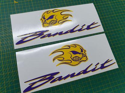 Picture of Suzuki  Bandit Custom Decals / Stickers