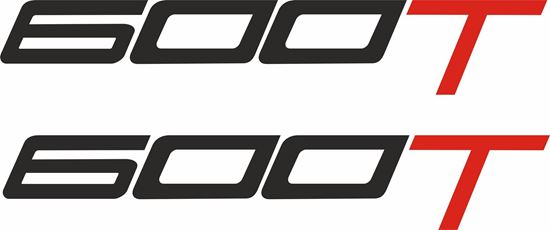 """Picture of Triumph Daytona """"600T""""  Decals / Stickers"""