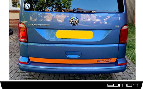 """Picture of VW T5 / T6  """"Mountain Edition"""" Rear Stripe"""
