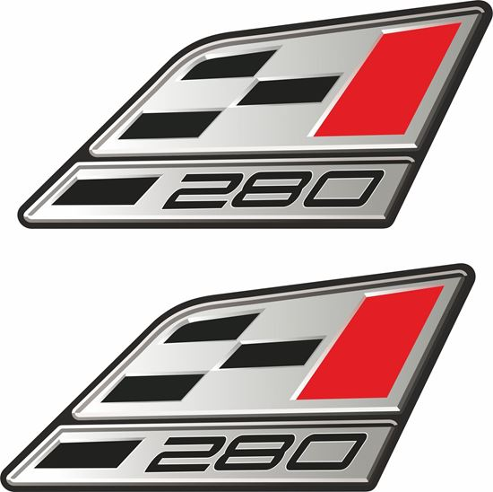 "Picture of Seat Leon Cupra ""280""  Decals / Stickers"