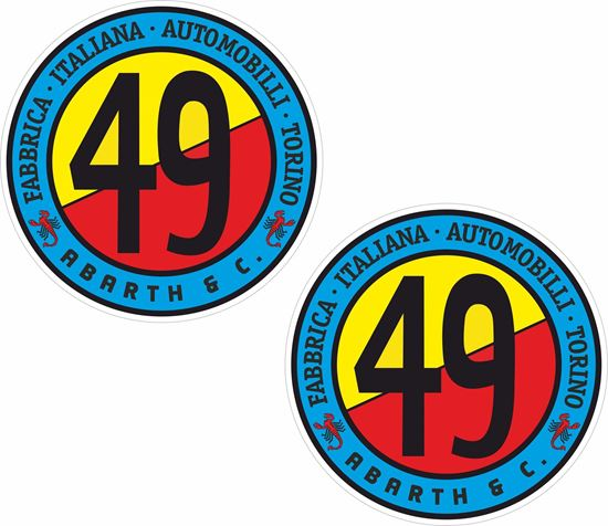 Picture of Fiat Abarth & C 49 Decals / Stickers