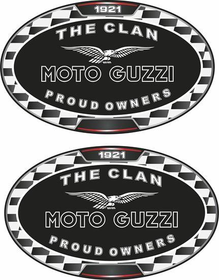 "Picture of ""Moto Guzzi""  Decals / Stickers"