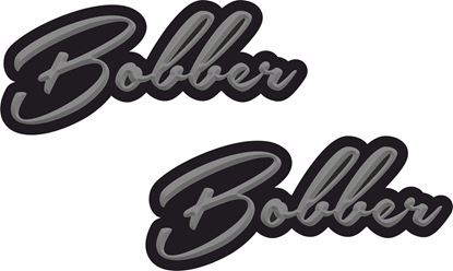 "Picture of ""Bobber"" Decals / Stickers"