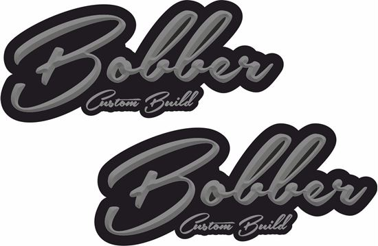 "Picture of ""Bobber Custom Build"" Decals / Stickers"