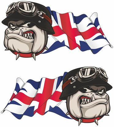 Picture of Bulldog GB Decals / Stickers
