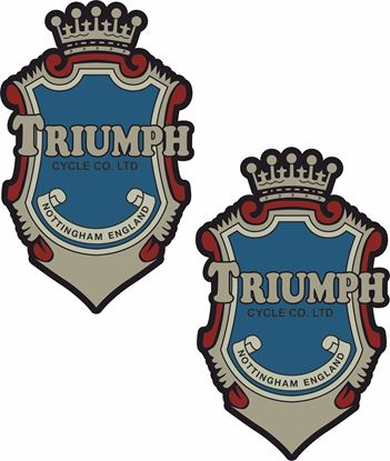 Picture of Triumph Cycle Co Decals / Stickers