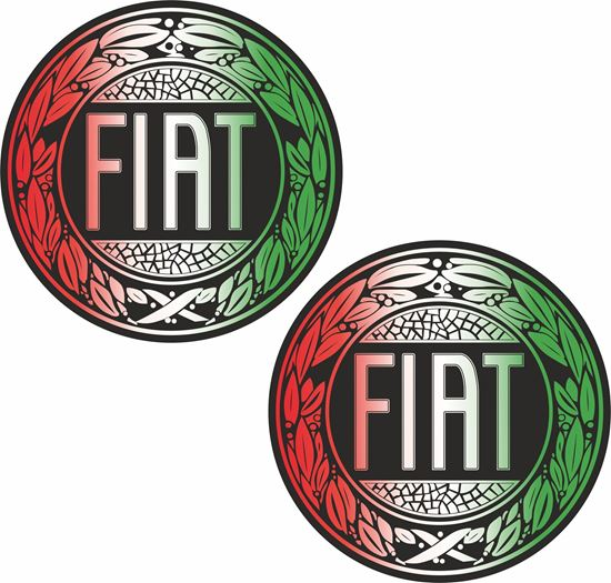 Picture of Fiat Stickers / Decals
