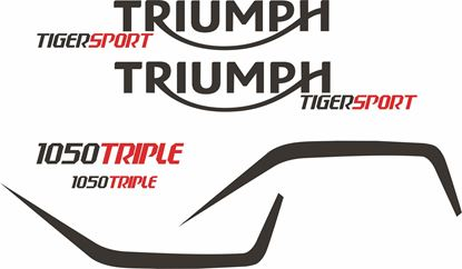 Picture of Triumph Tiger Sport replacement  Decals / Stickers