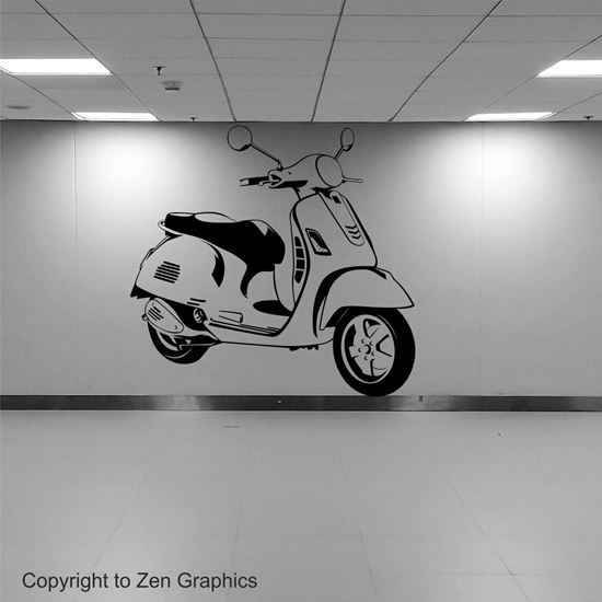 Picture of Vespa GTS 300 Wall Art sticker