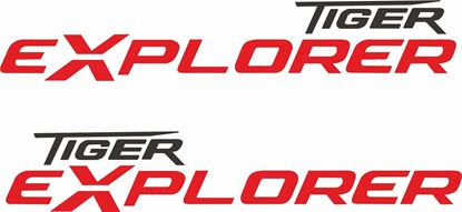 Picture of Triumph Tiger Xplorer Decals / Stickers