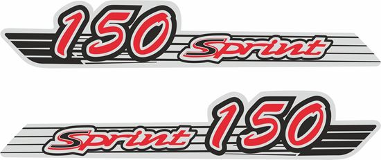 Picture of Vespa Sprint 150  Decals / Stickers