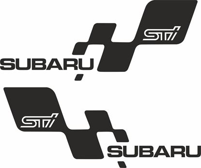 Picture of Subaru STi Decals / Stickers