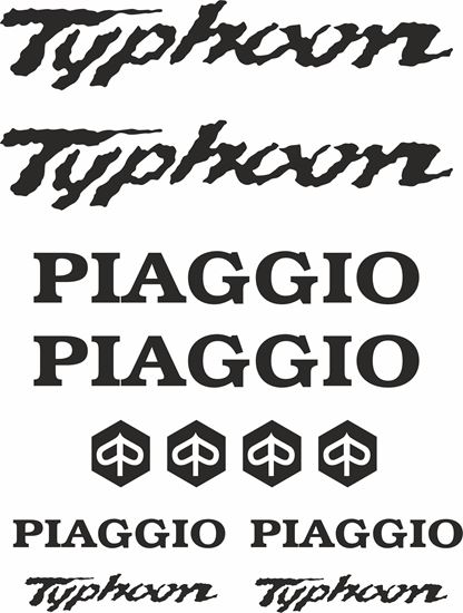 Picture of Piaggio Typhoon Decals / Stickers kit