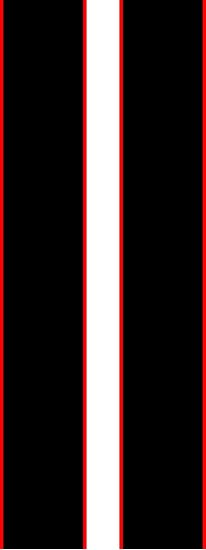 Picture of Mini Cooper / S / JCW Quality OEM Style two colour Boot Stripes  / Stickers