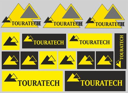 "Picture of ""Touratech"" Sticker Sheet"