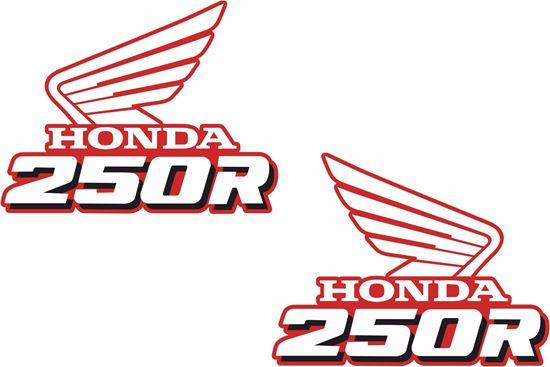 Picture of Honda XR250 replacement Tank Decals / Stickers
