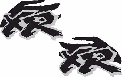 Picture of Honda XR replacement Tank Decals / Stickers