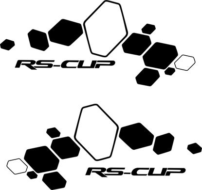 "Picture of Renault  ""RS-CUP"" Decals / Stickers"