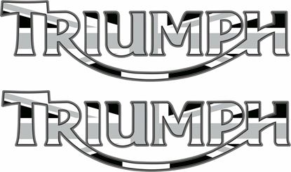 "Picture of ""Triumph "" Decals / Stickers"