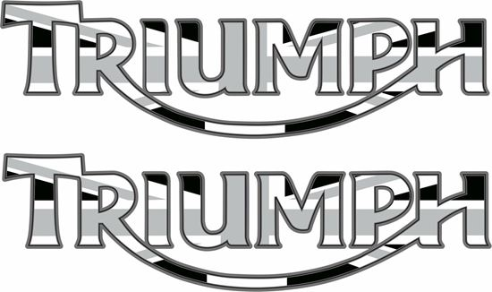 """Picture of """"Triumph """" Decals / Stickers"""