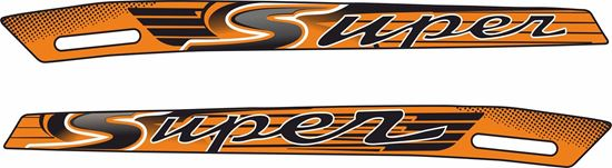 Picture of Vespa GTS Super 2012 - 2017  side Stripes  / Stickers