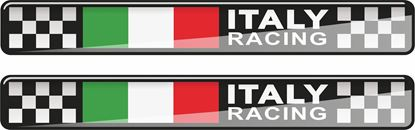 Picture of Italy Racing 120mm wide adhesive Badges
