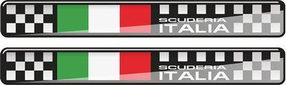 Picture of Scuderia Italia 120mm wide adhesive Badges