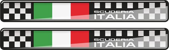 Picture of Scuderia Italia 120mm wide adhesive Badges