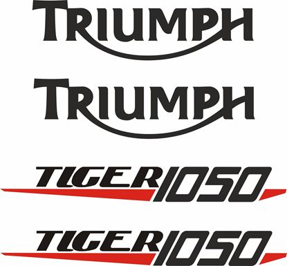 Picture of Triumph Tiger 1050 replacement  Decals / Stickers