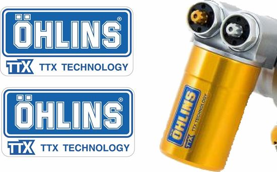 Picture of Ohlins replacement TTX Gas Shock Decals / Stickers